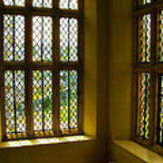 Sunny Corner At Montacute House  Poster
