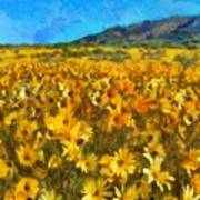 Sunny Meadow Poster