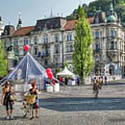 Sunny Slovenia Poster