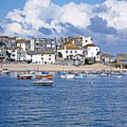 Sunny St Ives Poster