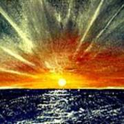 Sunrays Poster