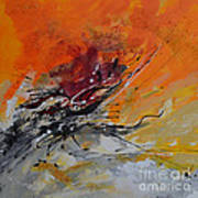 Sunrise - Abstract Poster by Ismeta Gruenwald