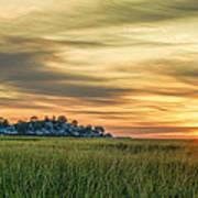 Sunrise At Little Neck Poster