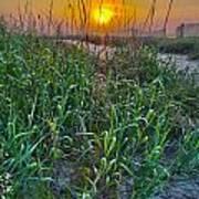Sunrise At Myrtle Beach Poster