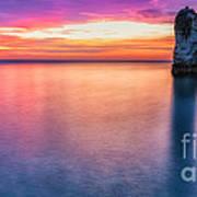 Summer Sunrise Selwick Bay Flamborough Poster