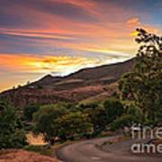 Sunrise At Woodhead Park Poster by Robert Bales
