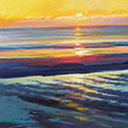 Sunrise Flats Poster by Ed Chesnovitch