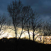 Sunrise In Murrysville Poster