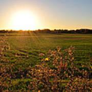 Sunrise In Oklahoma Poster