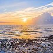 Sunrise In The Atlantic Poster