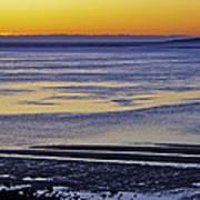 Sunrise Ipswich Bay Poster
