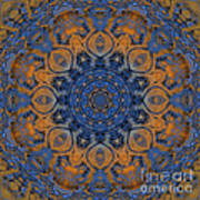 Sunrise Kaleidoscope Poster