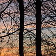 Sunrise Of Lake Huron Poster by Rhonda Humphreys