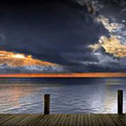 Sunrise On Key Islamorada In The Florida Keys Poster