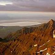 Da5901-sunrise On Steens Mountain Poster