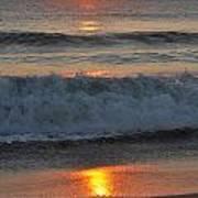 Sunrise On The Atlantic 2 Poster