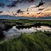 Sunrise On The Marsh Poster