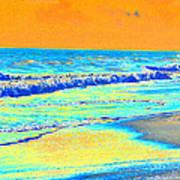Sunrise On Tybee Island - Photopower 170 Poster
