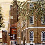 Sunrise On Wapping High Street London Poster