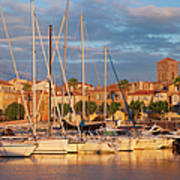 Sunrise Over La Ciotat France Poster