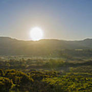 Sunrise Over The Bluestack Mountains - Donegal Ireland Poster