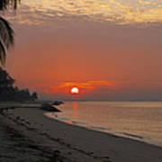 Sunrise Over The Horizon Poster