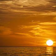 Sunrise Over The Sea Of Cortez Poster