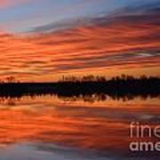 Sunrise Reflections Poster