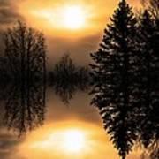 Sunrise-sundown Poster
