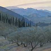 Sunrise Umbria 1914 Poster
