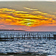 Sunset Art Outer Banks Poster