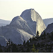 Sunset At Half Dome From Olmsted Pt Poster