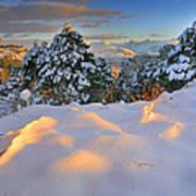 Sunset At Sierra Nevada Poster