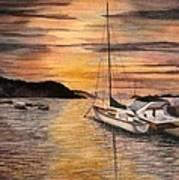 Sunset Bay Poster
