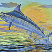 Sunset Blue Off0085 Poster