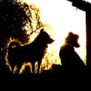 Sunset Buddies Poster