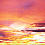 Sunset, Canyon De Chelly, Arizona, Usa Poster