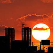 Sunset City Poster