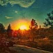 Sunset Poster by Dan Quam