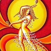 Sunset Dancer Poster by Joseph Sonday