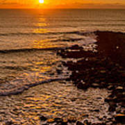 Sunset Far Away Poster