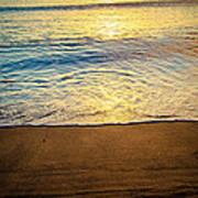 Sunset Hanalei Poster