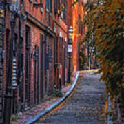 Sunset In Beacon Hill Poster