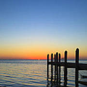 Sunset In The Keys Poster