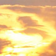 Sunset Jesus Poster