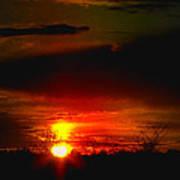 Sunset Landscape Photograph Poster