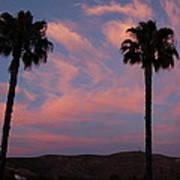 Sunset Landscape Xi Poster