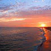 Sunset On Balboa Poster