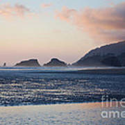 Sunset On Cannon Beach Poster