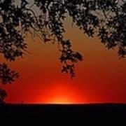 Sunset On Jekyll Island Poster